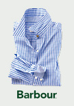 Barbour-Bluse im 'Gingham Check'