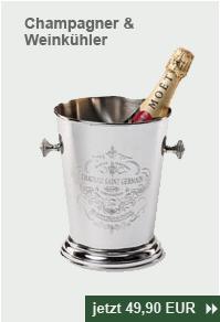 Champagner/Sekt und Weinkühler 'Chateau Saint Germain'