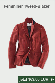 Femininer Tweed-Blazer